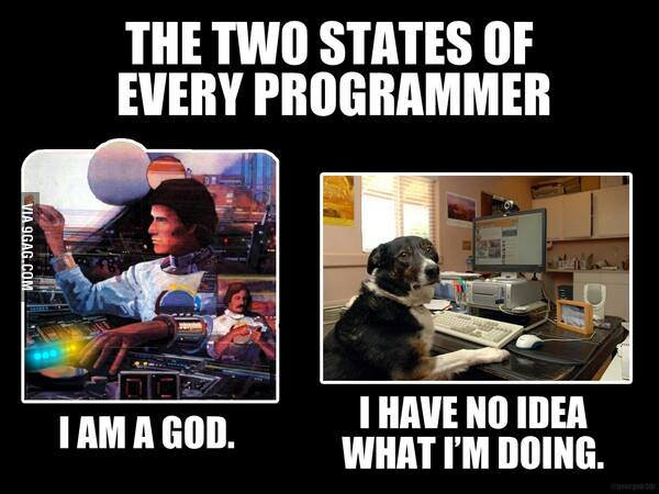 two states of every programmers