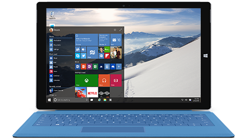 Windows 10 On Surface Official Press Image Wide
